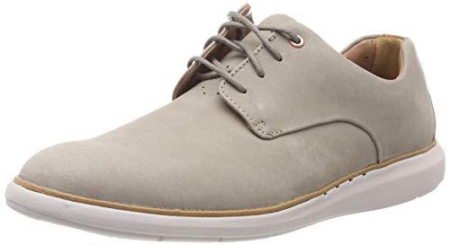 Clarks Herren Clarkdale Bud Klassische Stiefel, Grau (Taupe Nubuck), 46 EU Taupe Nubuck Schuhe