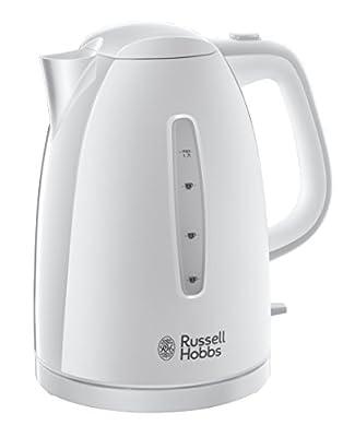 Russell Hobbs 21270-70 Bouilloire Textures Blanc givré 1, 7 L, 2400 W