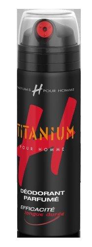 H pour Homme - Déodorant Atomiseur Titanium - 200 ml