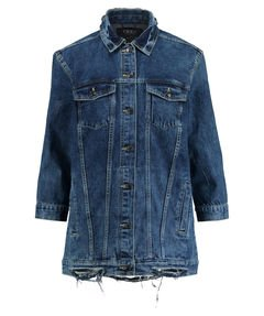 ONLY GIACCA JEANS OVERSIZE DENIM DONNA-38