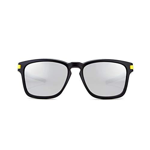CCGKWW Herren-Sonnenbrillen Von Brand Square Polarized Sunglasses Herren All-Fit Mirror Boy Sonnenbrille Im Klassischen Design