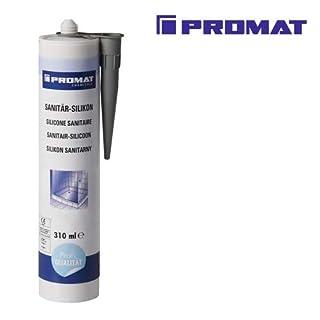 NORDWEST Handel AG Sanitär-Silikon weiß 310 ml Kartusche PROMAT chemicals