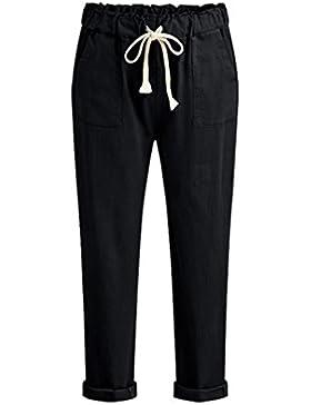 Guiran Donna Pantaloni Matita Casuali Pantaloni Taglie Forti Pantaloni Con Tasche