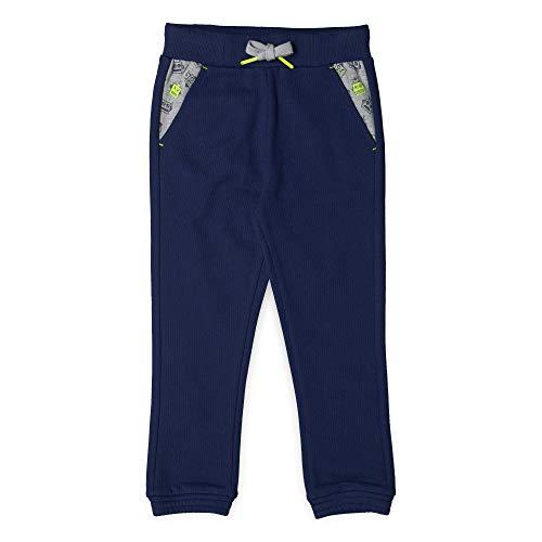 ESPRIT KIDS Jungen Hose Sporthose, per Pack Blau (Dark Blue 481), 116 (Herstellergröße: 116+)