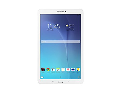 Samsung Galaxy Tab E Tablet, White, 9.6, 8 GB Espandibili, WiFi...