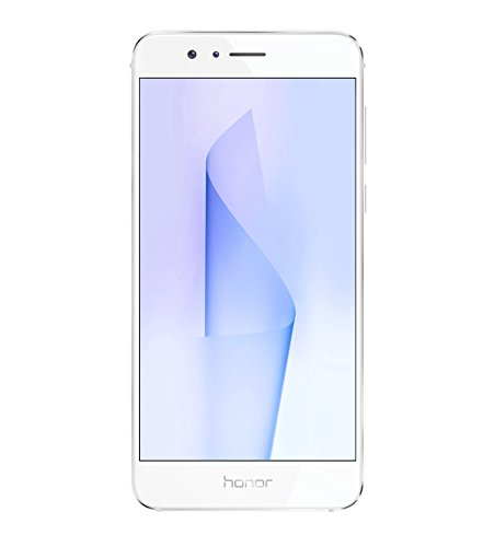 "Honor 8 Smartphone 4G LTE, Display 5.2"" IPS LCD, Octa-Core HiSilicon Kirin 950, 32 GB, 4 GB RAM, Doppia Fotocamera 12 MP, Bianco"