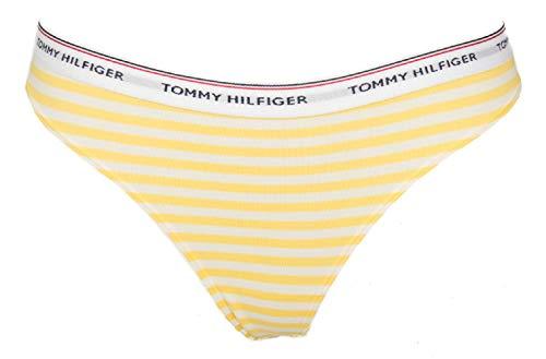 Tommy Hilfiger Packung mit 3 Slip String Tanga Frau Dame Tripack Artikel UW0UW01608 3PACK Thong Print - 3