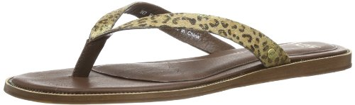 UGG Chaussures Femme - Sandales ALLARIA - 1004431 - leopard metallic calf hair Or - Gold (LMTL)