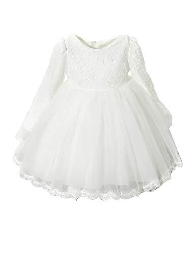 zhxinashu Mädchen Kleid Prinzessin Tutu Kleider - Langarm Party Herbst Winter 80cm ()