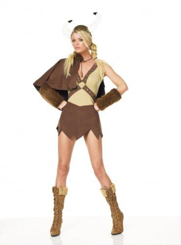 Viking Sexy Kleid Set Größe -