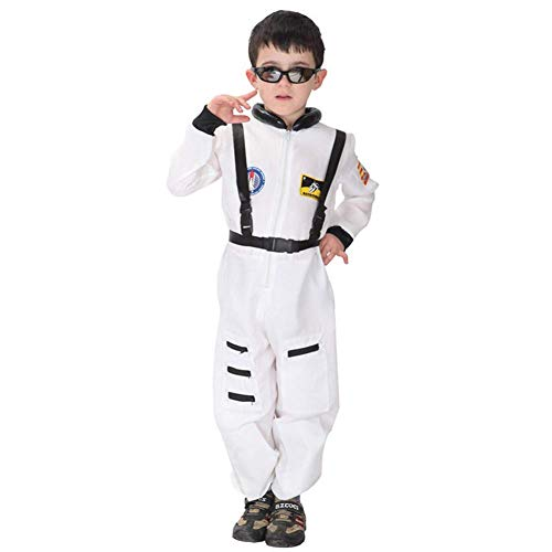 YKQ WS Halloween Kostüme - Astronauten Themen One Piece für Kids Boy Performance Party (größe : XL)
