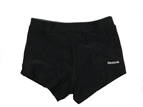 Reebok - Bañador natación - niño Negro 10 años