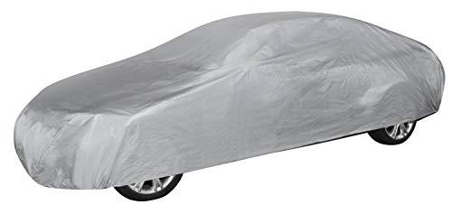 Walser 31011 Autoabdeckung Vollgarage Größe L hellgrau, wasserdichte Ganzgarage, Staubdicht mit UV Schutz