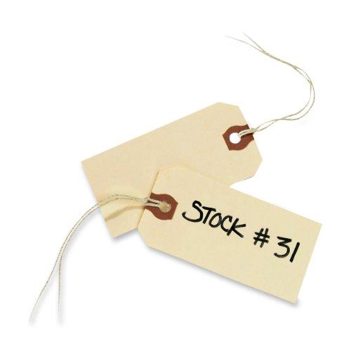nd Tags, BESAITET, 9,5x 4,8cm, 1000Stück (12503) ()