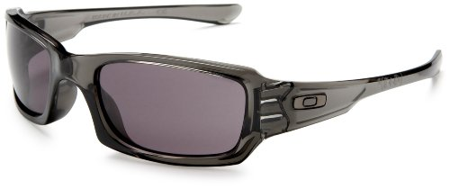 Oakley Fives Squared Brille Grey Smoke Warm Grey