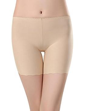 SHOBDW Las mujeres de encaje faldas escalonadas falda corta bajo pantalones de seguridad ropa interior