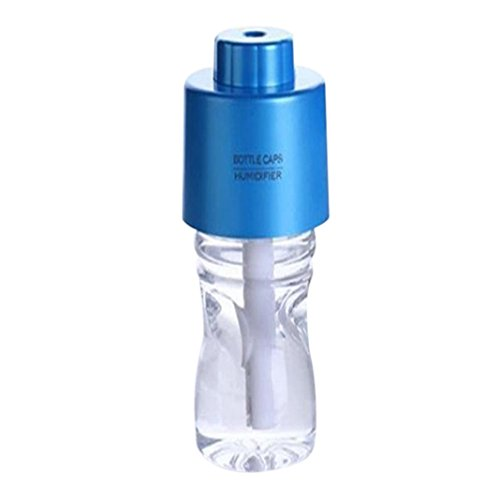 STRIR 280ml Botella Personalizada USB portátil Mini humidificador (Azul)