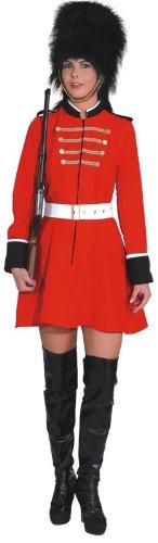 Damen Kostüm als Beefeater zu Karneval Fasching Gr.38 ()