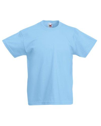 t-shirt-a-manches-courtes-unisexe-fruit-of-the-loom-pour-enfant-7-8-ans-bleu-ciel