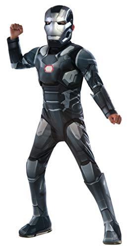 Rubie's Offizielles Deluxe War Machine Jungen Superhelden-Kostüm für Kinder, Halloween-Kostüm, für Kinder im Alter von 3-4 Jahren (Im 3 Von Alter Halloween-kostüme)