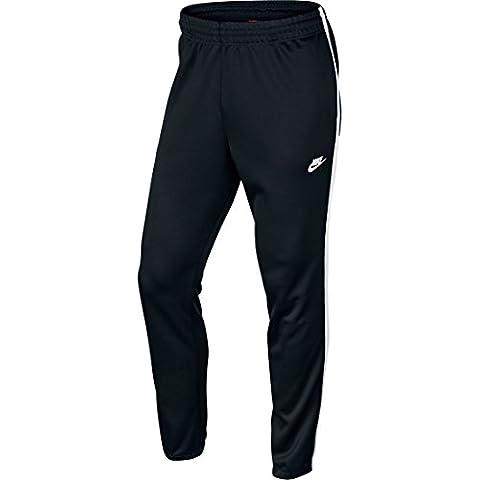 Nike Tribute Pk Track - Pantalón chandal para hombre, color negro / blanco, talla M