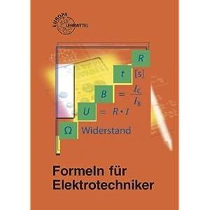 Jetzt herunterladen pdf Formeln für Elektrotechniker