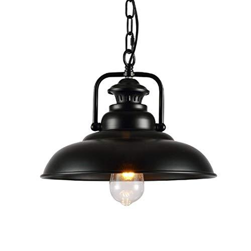 VSousT Scheune Pendelleuchten, Licht Hängeleuchte for Küche Esstisch Öl Eingerieben Bronze Deckenleuchte Pendelleuchte E26 Basis