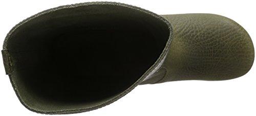 Sanita Damen Puk Boot Schlupfstiefel Grün (Olive 64)