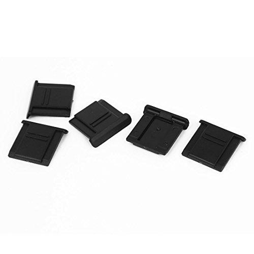 sourcing map Plastik Dgital DSLR Camara Hot Shoe Ebene Abdeckung Portector Schwarz 5 Stück DE de -