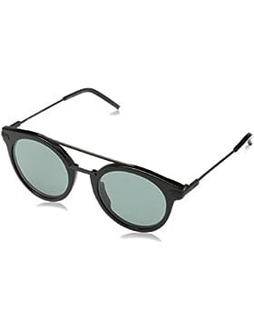 Fendi Ff 0225/S Qt, Occhiali da Sole Donna, Nero (Black), 49