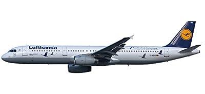 Herpa 611497 Lufthansa Airbus A321 25 Jahre Kranichschutz - D-Airr Wismar, Flugzeug von Herpa