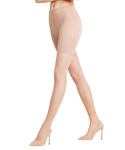 FALKE Damen Strumpfhosen Cellulite Control 20 DEN, Transparente, Matt, 1 Stück, Gelb (Sun 4099), Größe: L