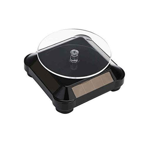 NAYUKY Sonnenenergie-Batterie 360   drehende Drehscheibe-Ausstellungsstand Ketten-Armband-Schmucksache-Telefon Turn Table Teller (Plattenspieler U-turn)
