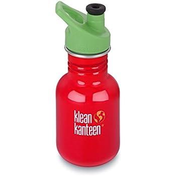 Klean Kanteen Edelstahl Kinderflasche mit Sport Cap 355 ml, Farm House, 8020196
