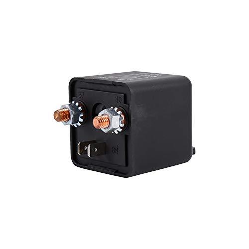 Interruptor de relés automotrices 12V 200A universal de 4 pines Coche Auto Barco 200Amp Carga de alta resistencia encendido/apagado Interruptores de relé