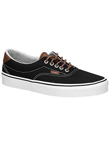 Vans Classic Era Sneaker Skater Unisex Canvas Black, Numero di Scarpe:EUR 44