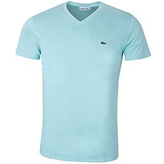 Lacoste Herren SS V-Neck T-Shirt - Aspera - M