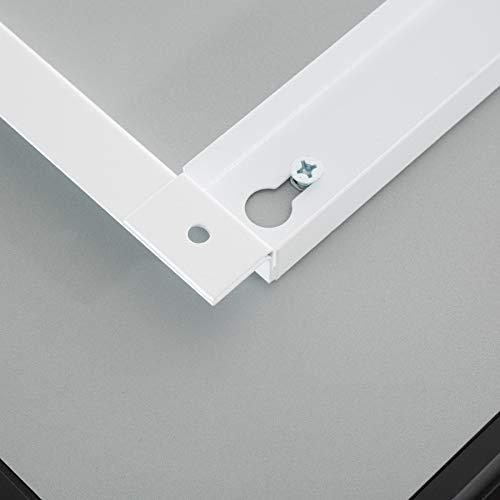 TecTake Spiegel Infrarotheizung Spiegelheizung ESG Glas Elektroheizung Infrarot Heizkörper Heizung inkl. Wandhalterung - 8