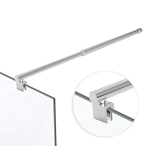 Haltestange Stabilisator Rohr Edelstahl Dusche Duschabtrennung HS11 / 700-1200mm für 6-10 mm Glasstärke
