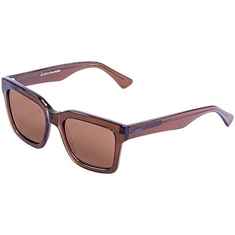 Ocean Jaws-Occhiali da sole, colore: marrone trasparente/Brown Lens