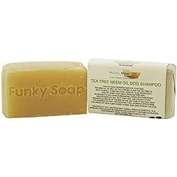 1 Stück Tee Baum & Neemöl Hundeshampoo 100% Natürlich Handgemacht 65g