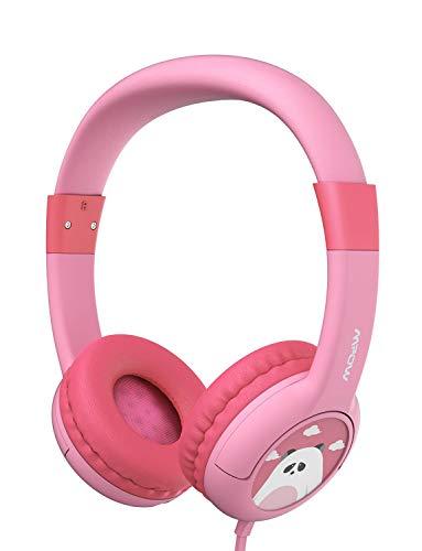 Mpow Kopfhörer Kinder, Kopfhörer für Kinder mit 85dB Lautstärke Begrenzung Gehörschutz & Musik-Sharing-Funktion, Kinderkopfhörer mit Kinderfreundliche sichere Lebensmittelqualität, Rosa -