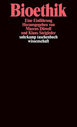 Suhrkamp Taschenbuch Wissenschaft Nr. 1597: Bioethik - Eine Einführung