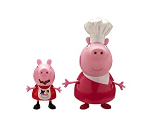Giochi Preziosi Peppa Pig PPC16 Figura de Juguete para niños Niño/niña 2 Pieza(s) - Figuras de Juguete para niños, 3 año(s), Niño/niña, Animales, Francés, Griego, Italiano, China