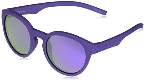Polaroid Unisex-Kinder PLD 8019/S MF 2Q1 45 Sonnenbrille, Violett (Violet/Grey)