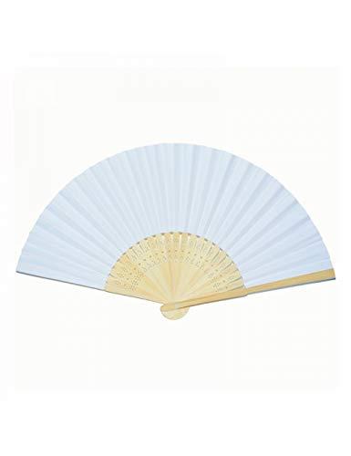 ATLD Fächer Handfächer 21Cm Falten Papier Fan Chinesischen Stil Leeres Papier Falten DIY Malerei Fan Qualität Werbung Handgemachte Ornamente