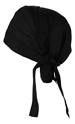 Alex Flittner Designs Bandana Cap unifarben schwarz