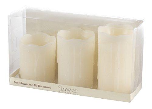 Flower Power LED-Kerze