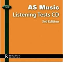 OCR AS Music | Listening Tests CD | 3rd Edition