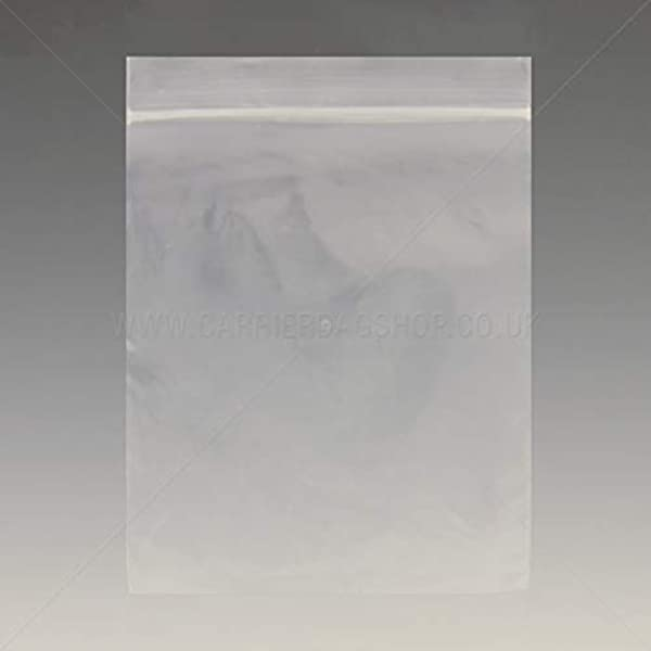 """1000x SMALL GRIP PRESS SEAL BAGS 3.5/"""" x 4.5/"""" CLEAR PLASTIC FOOD SUITABLE POUCHES"""